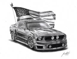 Ford Mustang by Lowrider-Girl