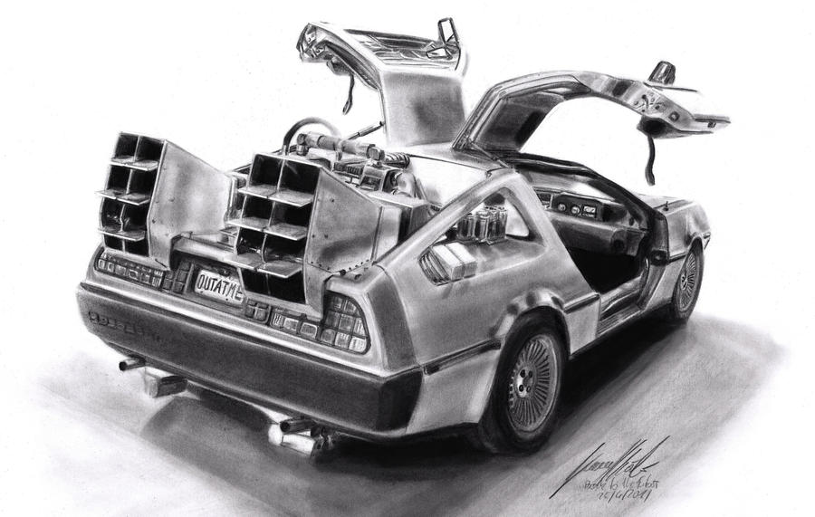 Back To The Future by Lowrider-Girl