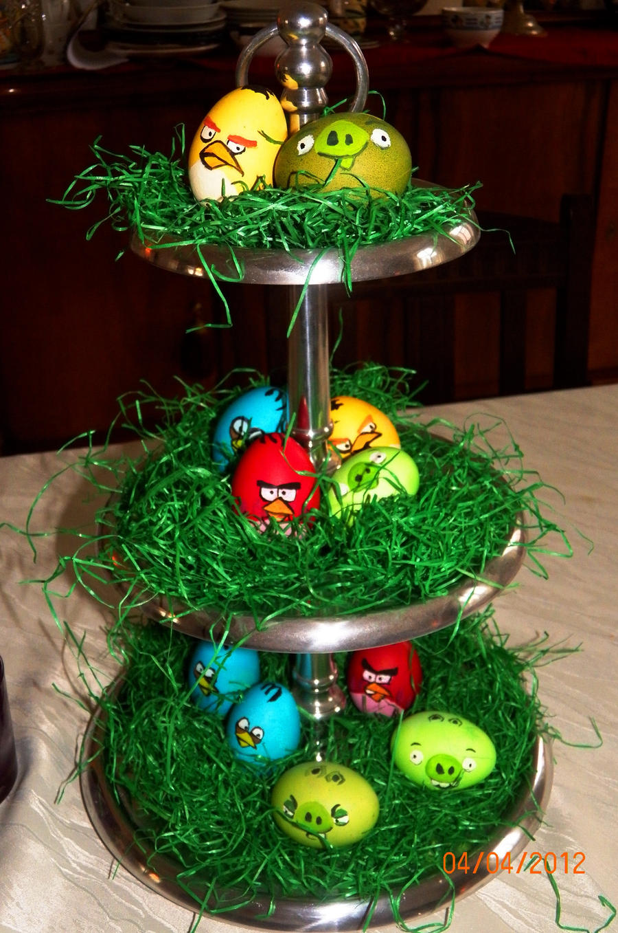Angry Birds Eggs by Lowrider-Girl