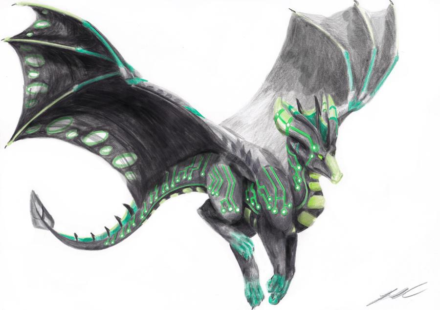 Cyber Dragon by Lowrider-Girl