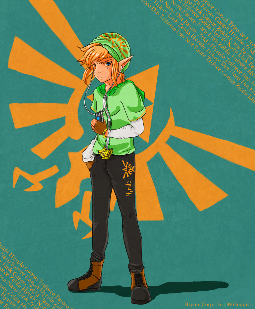 A Link to the Present by Foltzy