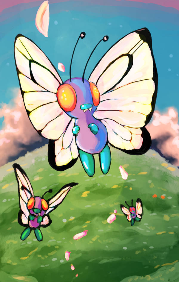 Butterfree by Foltzy