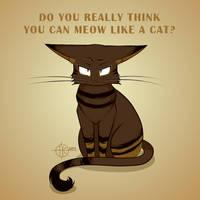 Meow Like a Cat by nakovalnya-artist