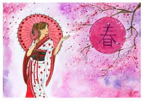 Spring   Haru by nakovalnya-artist