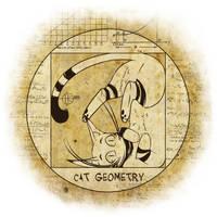 Cat Geometry by nakovalnya-artist