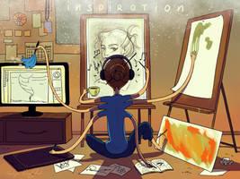 Inspiration by nakovalnya-artist