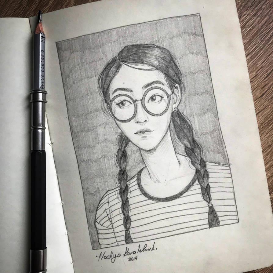 Pencil drawings sketchbook drawing 6 by nakovalnya artist