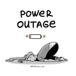 Power Outage by nakovalnya-artist