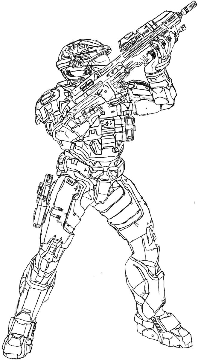 halo reach spartan by dewd2009 on deviantart