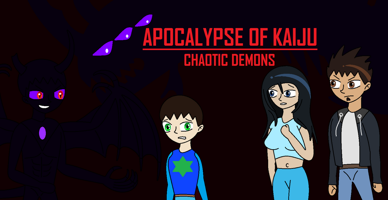 AoK - Chaotic Demons, Official Poster by EliteRaptor2015