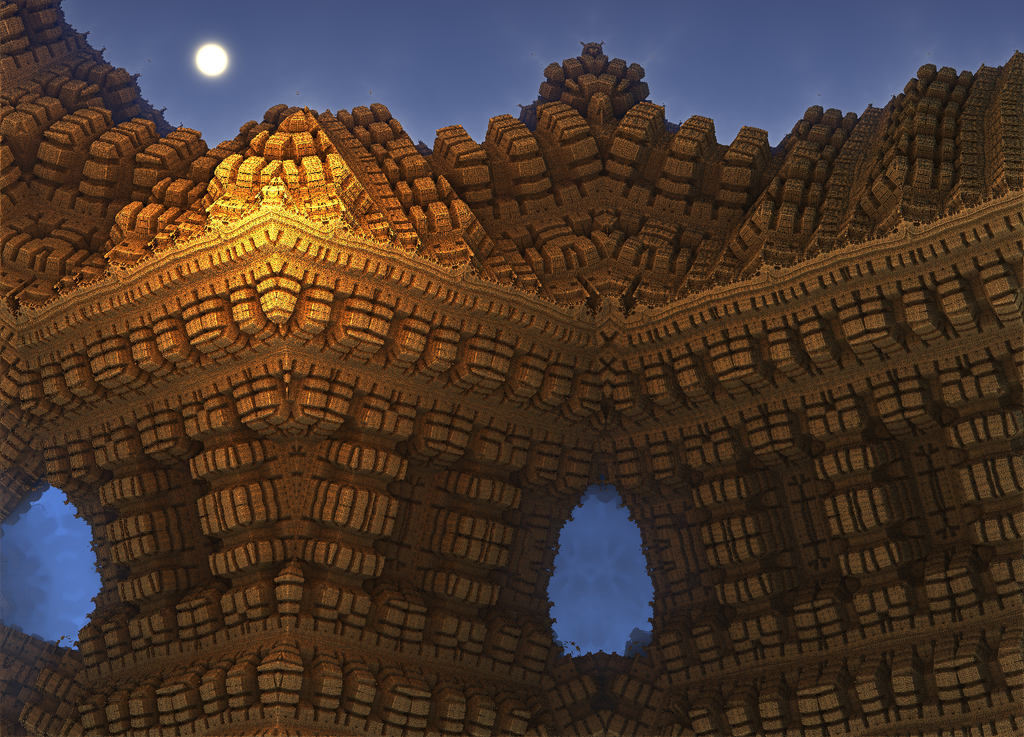 Moonrise Over the Lost City of El Dorado by moonhigh
