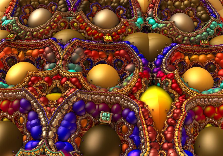 Rainbow of Gems by moonhigh