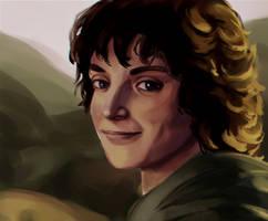 Frodo Portrait by JazzLassie6020