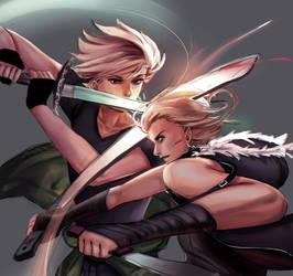 Sword Fight! [Norway and Logi]