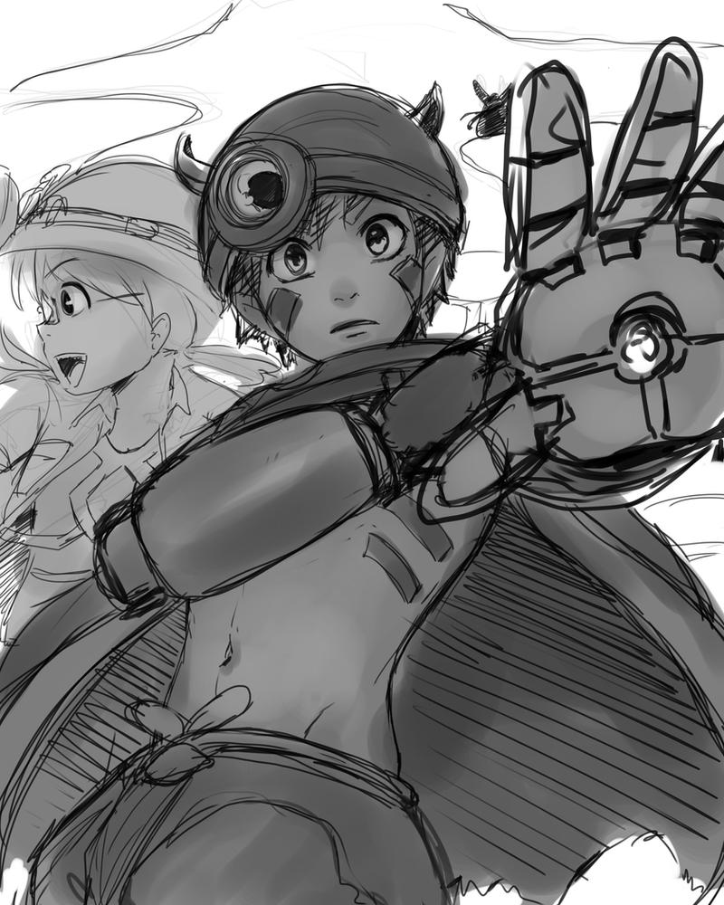 Made in Abyss Sketch [WIP] by JazzLassie6020