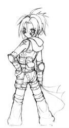 Nanami Rogue outfit