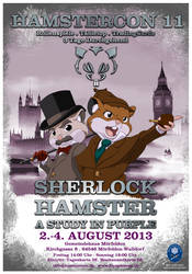 Sherlock Hamster - A Studiy in Purple by Mehoaido