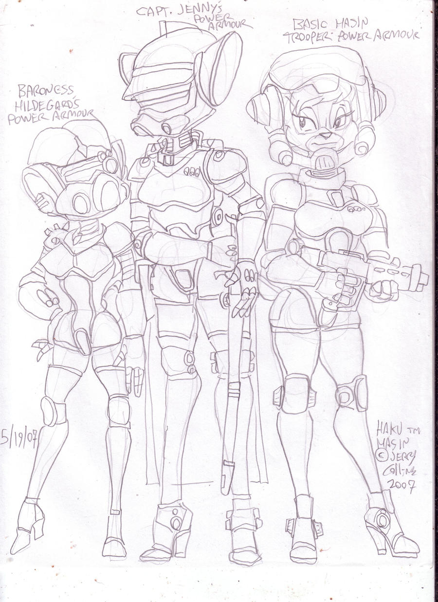 Hilly power armour1 by GeorgieGanarf