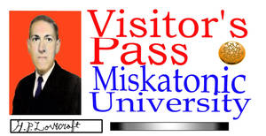 Miskatonic visitor's pass