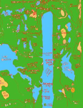 Fiddler's Green Map color