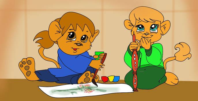 Tigu and Kimu