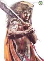 Hercules character by Anja-Aries