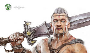 Beowulf character by Anja-Aries