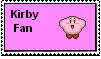 Kirby Fan Stamp by lucarioownsbrawl