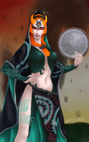 Hyrule Warriors Midna by Shearah