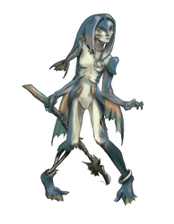 Zora Zombie by Shearah