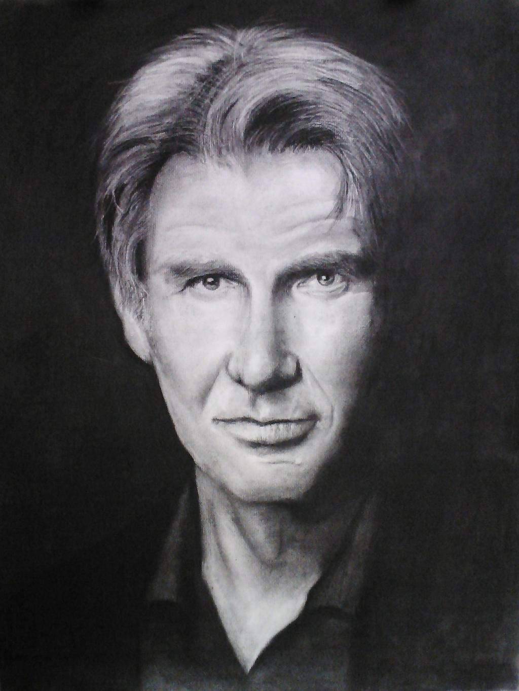 Harrison Ford (analysis of form) by JediBandicoot
