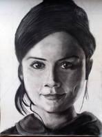 Jenna-Louise Coleman (Clara Oswin Oswald) by JediBandicoot