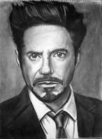 Robert Downey Jr. by JediBandicoot