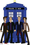 Doctor Who 9th, 10th, 11th And 12th