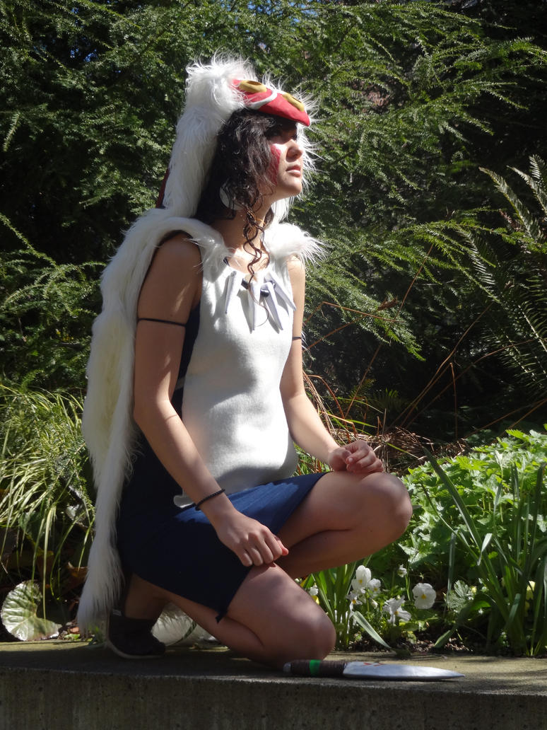 Princess Mononoke Cosplay by KH-LoZ-er