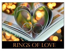 Rings of Love ...ll by Betuwefotograaf