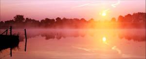 When Mist and Water Kissed by Betuwefotograaf