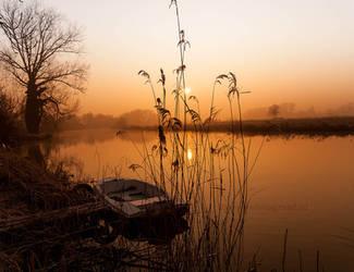 MMM---Misty Monday Morning....... by Betuwefotograaf