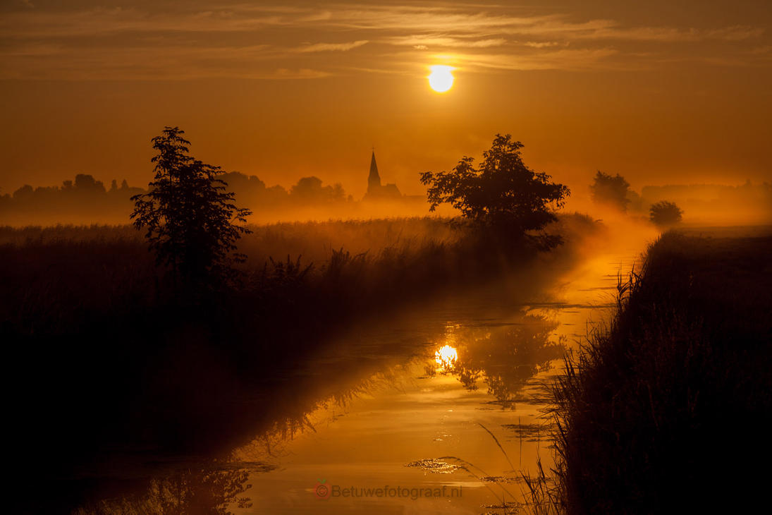 Little town in Holland by Betuwefotograaf
