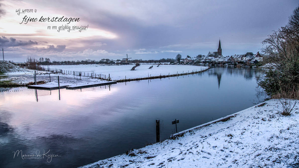 Merry Christmas and a Happy Newyear by Betuwefotograaf