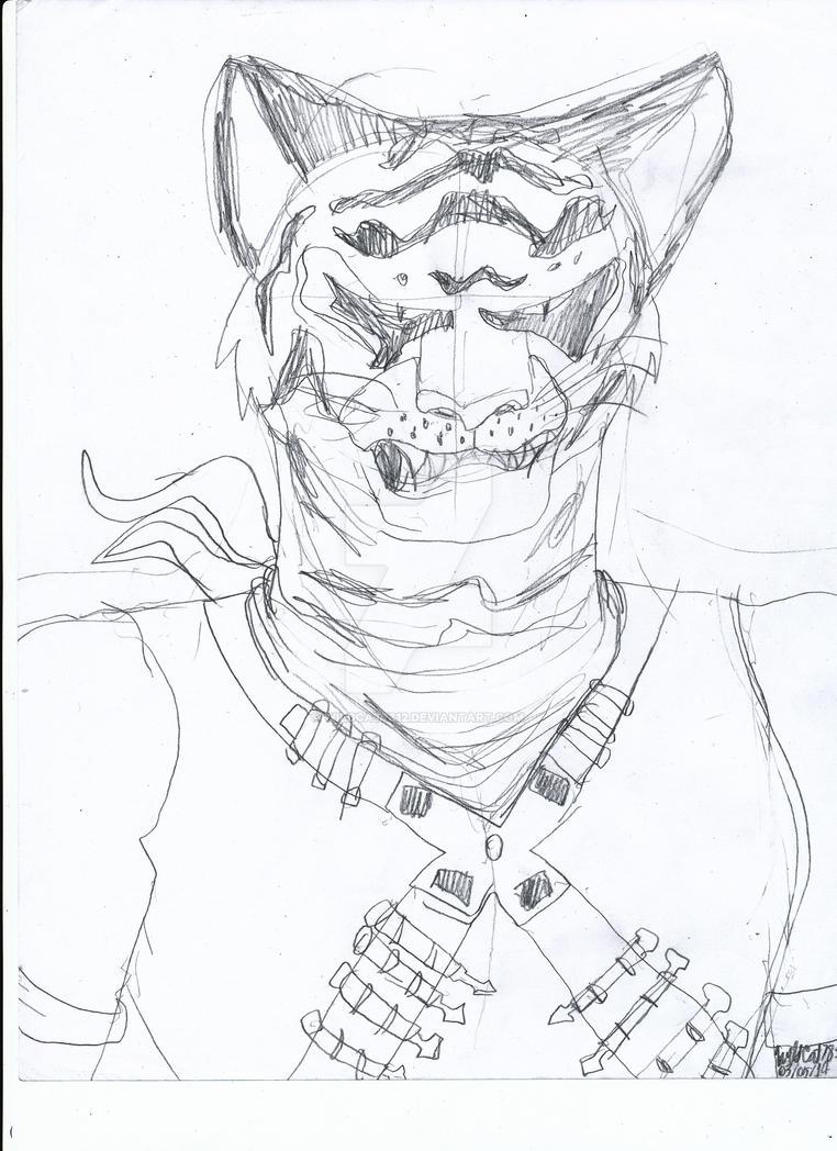 tiger ninja turtles coloring pages - photo#6