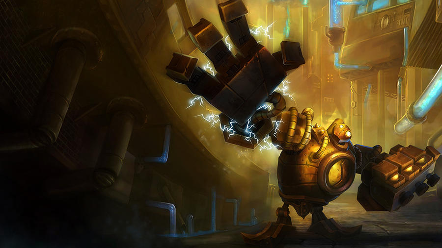 Blitzcrank wallpaper by Nighthunte