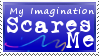 Imagination Stamp by MacabreVampire