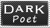Poet Stamp by MacabreVampire