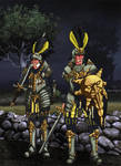 Knights of the blazing sun