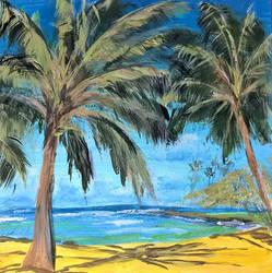 Coconut Trees by AmandaFerguson070707