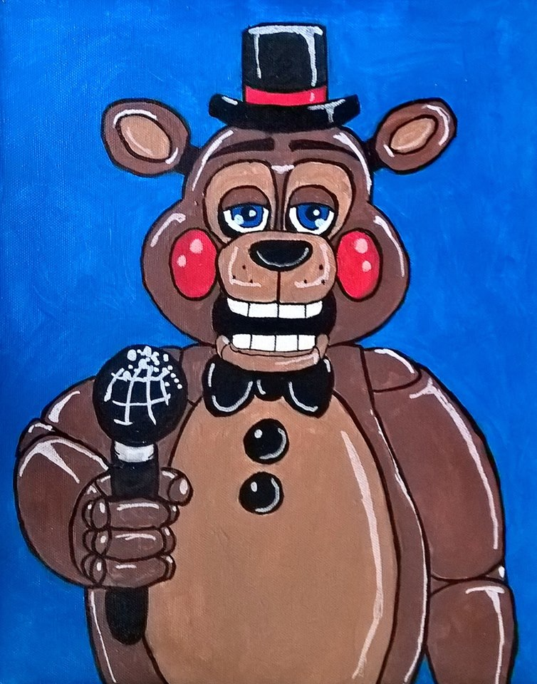 Toy Freddy by AmandaFerguson070707