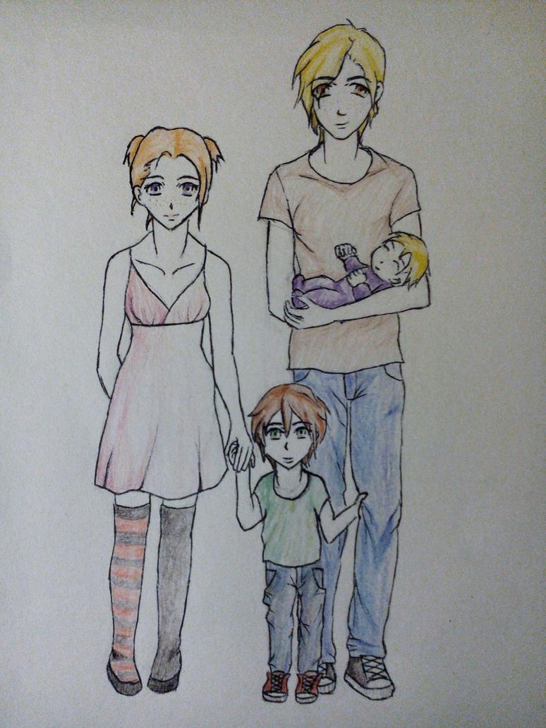 EO : La petite famille by Gragalit