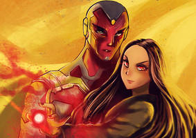 Wanda and Vision love by w22986703