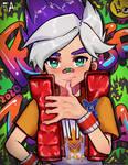 Ninjala Game-Fanart - Violet